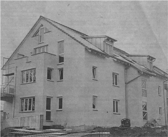 """Wohnanlage """"Auf dem Lehen"""" in Schlier-Fenken"""